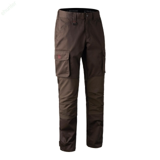 Nohavice DEERHUNTER Rogaland brown stretch